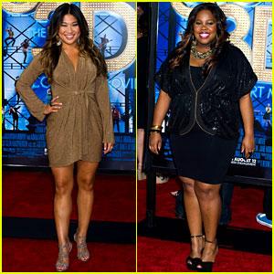 Jenna Ushkowitz & Amber Riley: 'Glee 3D' Premiere!