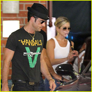 Jennifer Aniston: Doctor's Appointment with Justin Theroux