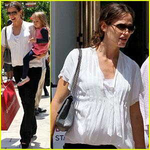 Jennifer Garner & Seraphina: American Girls!