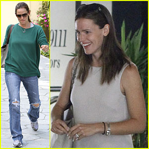 Jennifer Garner: Business in Beverly Hills