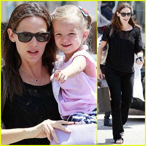 Jennifer Garner & Seraphina: Lunch in L.A.