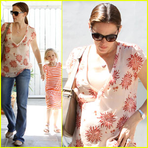 Jennifer Garner Takes Violet to Karate Class
