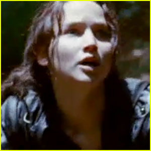 Jennifer Lawrence: 'Hunger Games' First Footage - WATCH!