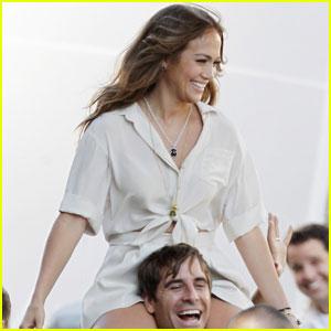 Jennifer Lopez: Music Video Shoot!