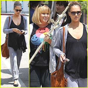 Jessica Alba: Birthing Class with Jimmy Kimmel!