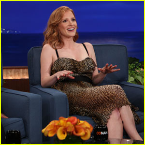 Jessica Chastain: Grandma Tells Me to be 'More Sexual'