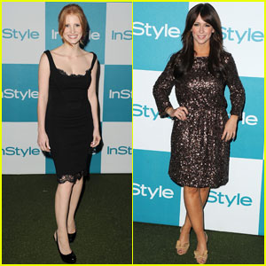Jessica Chastain & Jennifer Love Hewitt: Summer Soiree!