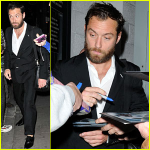 Jude Law: Autographs for Fans!