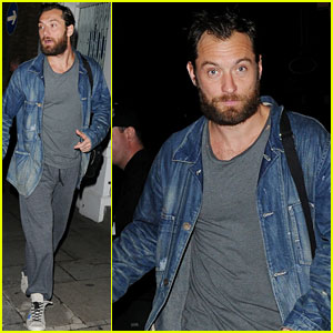Jude Law: Post Show Theatre Exit