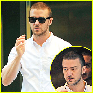 Justin Timberlake Puts His Stunna Shades On