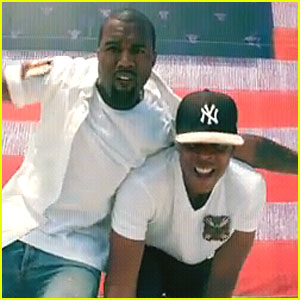 Kanye West & Jay-Z: 'Otis' Video Debut!
