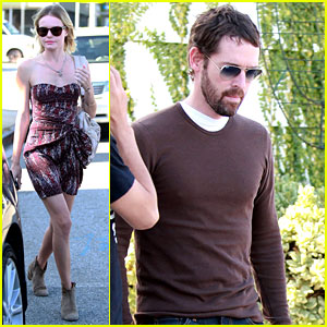 Kate Bosworth: Shopping with Michael Polish!