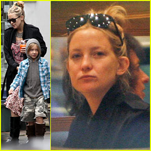 Kate Hudson: London Lunch with Ryder!