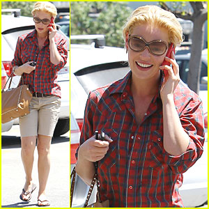 Katherine Heigl: Mani-Pedi Day!