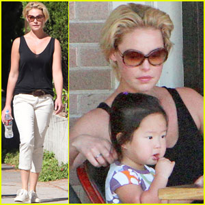 Katherine Heigl & Josh Kelley: Lunch with Naleigh!