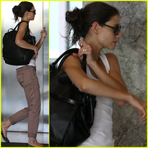 Katie Holmes: No More Tattoo!