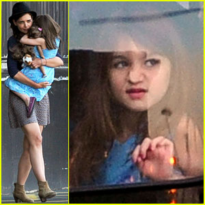 Katie Holmes: Helicopter Ride with Suri!