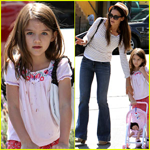 Katie Holmes: 'Suri is My Style Critic!'