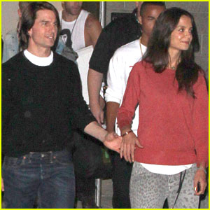 Tom Cruise & Katie Holmes: Katy Perry Concert Date!