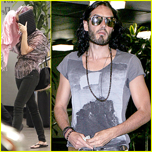 Katy Perry & Russell Brand: Lunch Date In Beverly Hills!