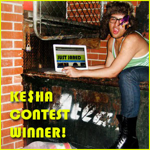 Ke$ha/JustJared Contest Winners Revealed!