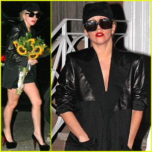Lady Gaga: Flower Power!