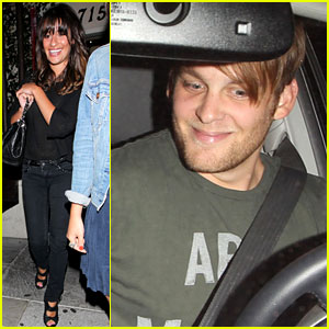 Lea Michele: Dominick's Dinner Date with Theo Stockman!