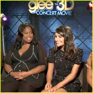 Lea Michele & 'Glee' Cast - JustJared.com Exclusive Interview!