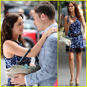 Leighton Meester & Ed Westwick: Upper West Siders