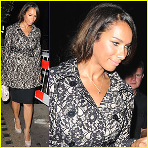 Leona Lewis Goes to See 'Ghost'