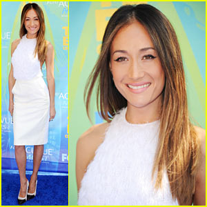 Maggie Q: Teen Choice Awards with Shane West!
