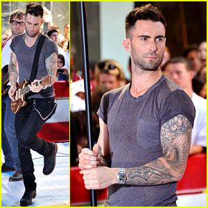Maroon 5: 'Moves Like Jagger' on The Today Show!