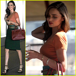 Miranda Kerr: Business Lunch Meeting!