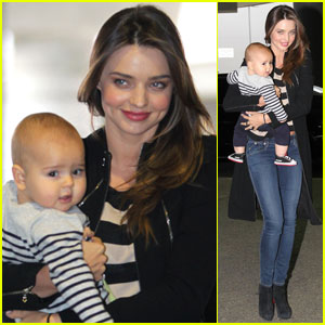 Miranda Kerr & Flynn: Calm Mother & Calm Baby!