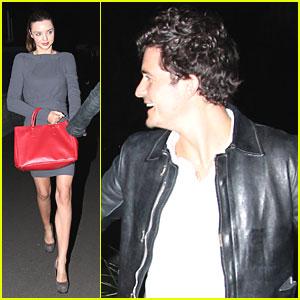 Miranda Kerr & Orlando Bloom: Date Night Down Under!