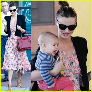 Miranda Kerr: Sunny Friday with Flynn!