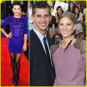 Heather Morris & Naya Rivera: 'Glee 3D' Premiere!