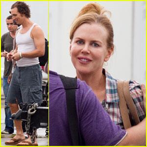 Nicole Kidman: 'Paperboy' Set with Matthew McConaughey!