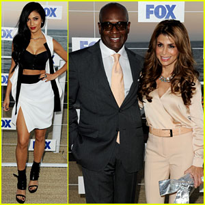 Nicole Scherzinger & Paula Abdul: 'X Factor' at Fox Party!