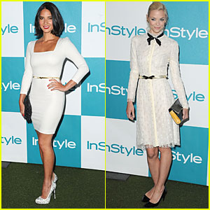 Olivia Munn & Jaime King: InStyle Summer Soiree!