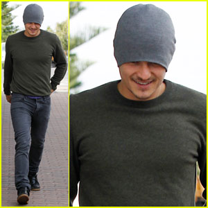 Orlando Bloom: Breakfast at Bondi Beach