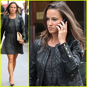 Pippa Middleton: Safety Pin Printed Dress