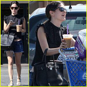 Rachel Bilson: Grocery Gal!