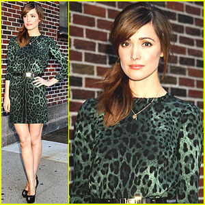 Rose Byrne: Spelling Bee with David Letterman!