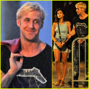 Ryan Gosling &#038; Eva Mendes Get Back to the 'Pines'