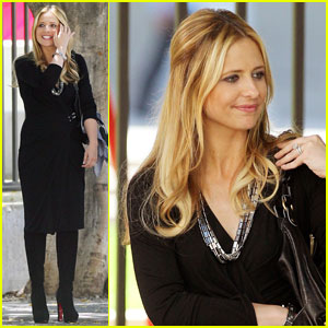 Sarah Michelle Gellar: 'Ringer' in Los Angeles!