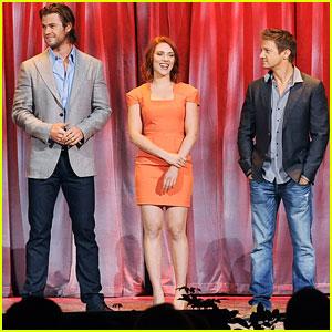 'The Avengers' Take on Disney's D23 Expo!