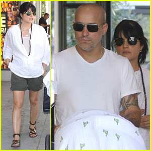 Selma Blair & Jason Bleick: Shopping with Baby Arthur!