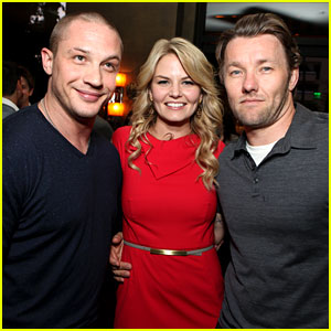 Tom Hardy: 'Warrior' Party with Joel Edgerton & Jennifer Morrison!