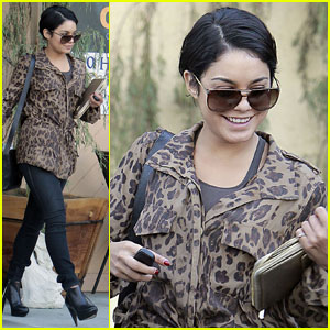Vanessa Hudgens: Pulled Over by the Police